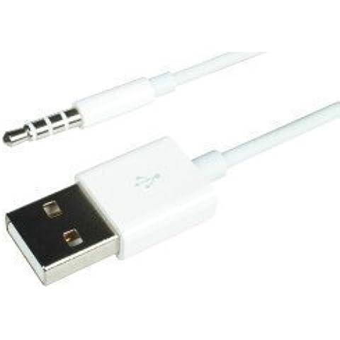 Zactech USB to iPod Shuffle 2-in-1 Data