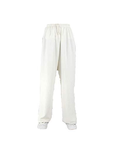 Pantalones de algodón y Lino de Tai Chi Hombres y Mujeres Deportes, práctica Yoga Artes Marciales Pantalones de Baile