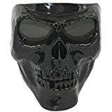 Vhccirt Persönlichkeit Schutzmaske Schädel / Zombie / Reaper Gesicht Airsoft / Paintball / Motorrad Racing Helm Maske Halloween Cosplay Maske Tonhöhe Graue Linsen