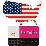 SIM-card prepagata degli Stati Uniti d'America con dati 4G/LTE da 50GB, UNLIMITED National Talk & Text in USA. Tethering a velocità massima 3G per 7 giorni.