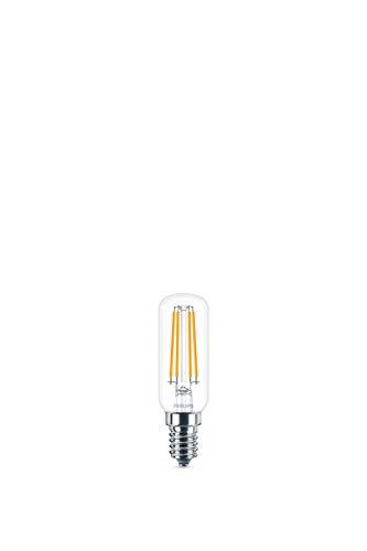 Philips LED classic Lampe, T25, Kühlschranklampe, ersetzt 40W, Warmweiß, 470 Lumen, Glas, Kolbenform