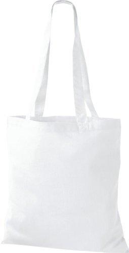 Shirtinstyle, Borsa tote donna Bianco (bianco)