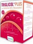 Triglicol Plus - 60 caps - Omega 3, Coenzima Q10 y Resveratrol - DietMed