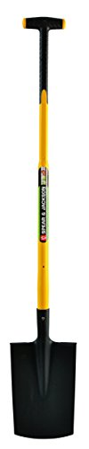 Spear & Jackson 81817 Bêche senlis 28 cm avec manche trimatière béquille 90 cm