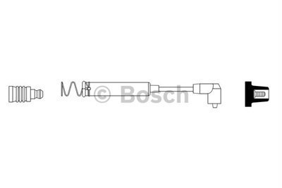 Bosch 0986356086 H.T. Ignition Cable