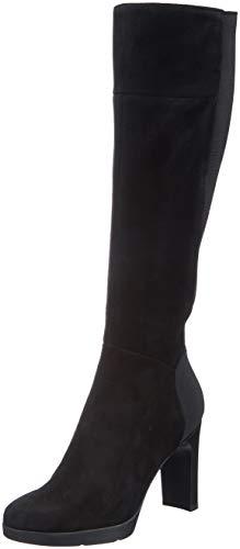 Geox Damen D ANNYA HIGH G Hohe Stiefel, Schwarz (Black C9999), 38 EU