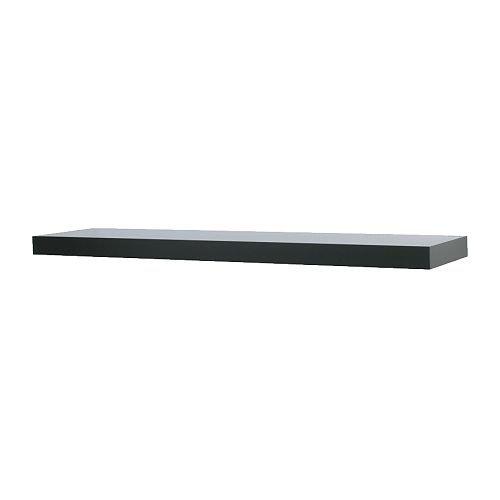 Ikea wandregal schwarz  IKEA LACK Wandregal 110cm SCHWARZ: Amazon.de: Küche & Haushalt