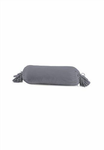 Schlafgut 031-128 Mako Jersey Kissenbezug / 15 x 40 cm, graphit