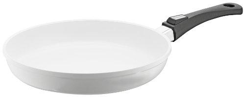 Berndes 032117 Vario Click Induction White Aluguss Bratpfanne keramik mit abnehmbarem Griff 28 cm