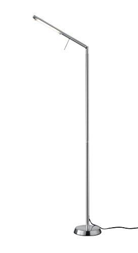 Trio Leuchten LED-Stehleuchte Filigran, nickel matt 420490107