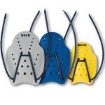 BECO Handpaddles / Schwimmpaddles DYNAMIC PRO incl. Tasche (L)