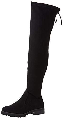 Buffalo Damen Flory Overknees, Schwarz (Black 001), 39 EU