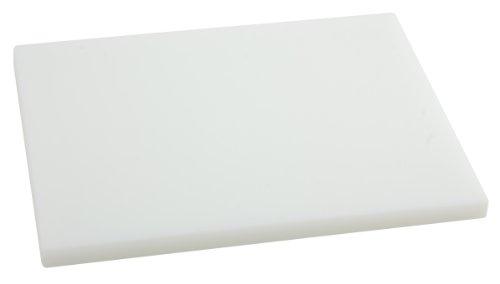 Metaltex - Tabla de cocina, Polietileno, Blanco, 33 x 23 x 1,5 cm