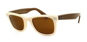 Ray ban occhiali da sole rb2140 original wayfarer - 965: sabbia scuro - 50mm
