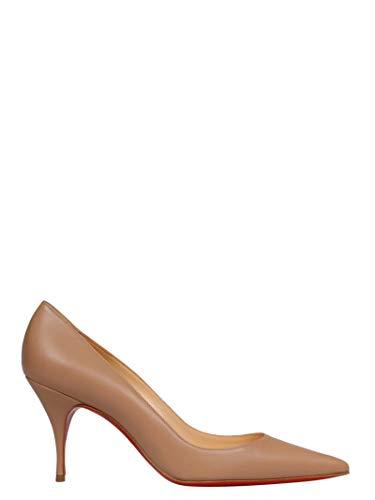 0489cd105 Christian Louboutin Mujer 3190531Pk1a Rosa Cuero Zapatos Altos