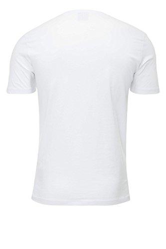 JACK & JONES Herren T-Shirt Jorbasic Tee SS Crew Neck NOOS White