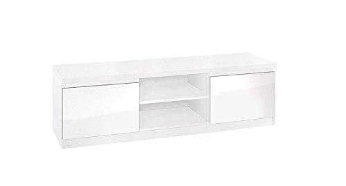 TV-Unterschrank Farbe: Weiß 46x150x50 cm (Tv-element 50)