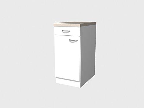 Flex-Well Classic Unterschrank Wito 40 cm Weiß