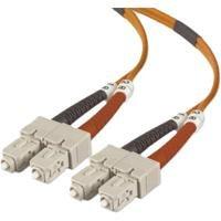 Belkin LWL Patchkabel 50µ Patchkabel Duplex SC / Stecker – SC / Stecker (3,0m)
