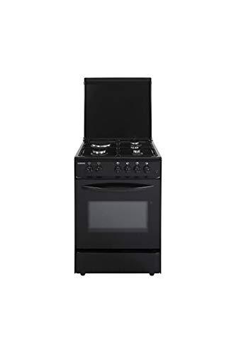 Oceanic oceacm6060b8 - cuisiniere Table Mixte gaz/électrique-4 foyers-Four Convection naturelle-65 l-a-l 60 x h 85cm-Noir
