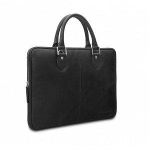 "dbramante1928 Handles Lite Sacoche en cuir pour Ordinateur Portable/MacBook 13"" Hunter Dark"