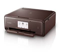 Canon Pixma TS8070 All-In-One Color InkJet Printer (White)