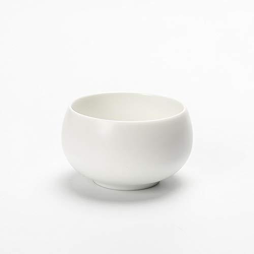 XLCLSA asda Tasses à thé en céramique de Style Zen Noires et Blanches 茗 Tasse Tasse Principale créative personnalisée Tasse individuelle Set Bol à thé Blanc 3 Tasse
