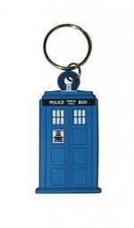 Dr-Who-Schlsselanhnger-Tardis-Gummi-blau-Offiziell-lizenziert
