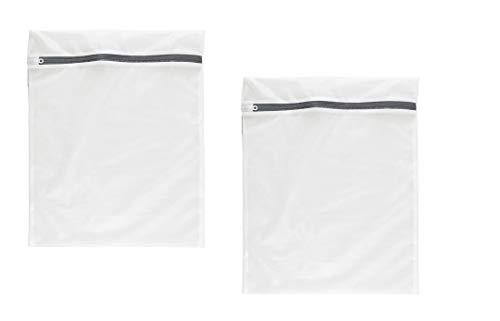 NOVAGO Lot de 2 Filets à Linge (Sac de Lavage) spécialement conçu pour Vos linges sensibles ou de qualité (Taille S 30x40 cm)