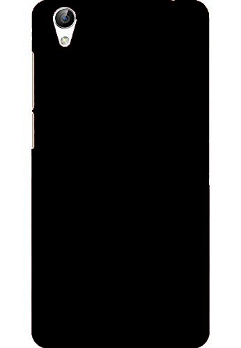 AMFIN Matte Finish Black Rubberised Slim Hard Case Back Cover for Vivo Y51L Back Cover