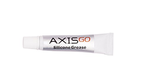 axisgo Silikon Fett für O-Ringe auf Wasser Gehäuse und Objektiv Anschlüsse (Kratzer-entferner Objektiv)
