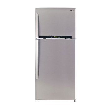 LG 470 L 4 Star Frost-Free Double Door Refrigerator (GL-T522GNSX, Noble Steel)