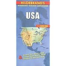 Carte routière : USA