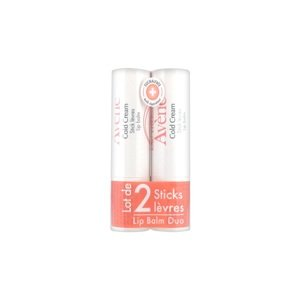 Lot de 2 Sticks Lèvres au Cold Cream + 1 crème mains 15ml Offerte Avène