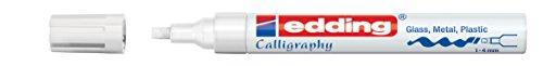 Preisvergleich Produktbild edding Glanzlack-Marker Kallografie 755 creative, 1 - 4 mm, weiß