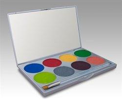 ette/face Paint Kit (Tropical Rainbow) by Mehron by Mehron ()