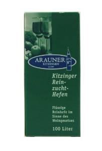 Arauner Kitzinger Reinzuchthefe Sherry für 100 Liter ( 1 hl)