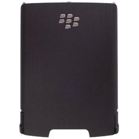 Original BlackBerry tempesta 9500 (Black) Standard Battery Cover copribatteria/