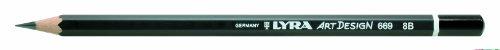 Bleistift LYRA ART Design 178x7mm 8B PG/12ST