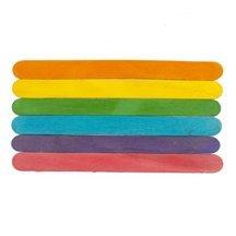 Colored Jumbo Craft Sticks-Bag of 1500 by WWD