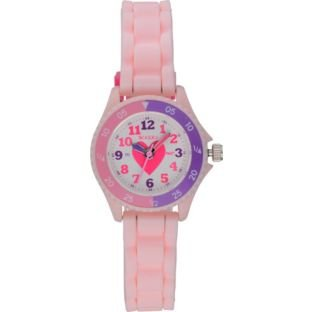 Tikkers Girls' Pink Time Teacher Watch Set. Best Price and Cheapest
