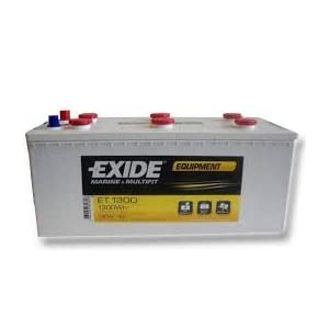 Wohnmobil Batterie Exide ET1300 Equipment Glassmat 12V 180AH 1300WH