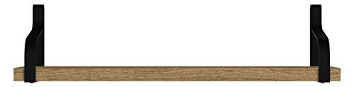 Love-KANKEI Wandregal Schweberegal Hängeregal U-Form Wandboard 3er Set, Ideal für Wohnzimmer Schlafzimmer Flur Badezimmer, Länge 43/33/23cm