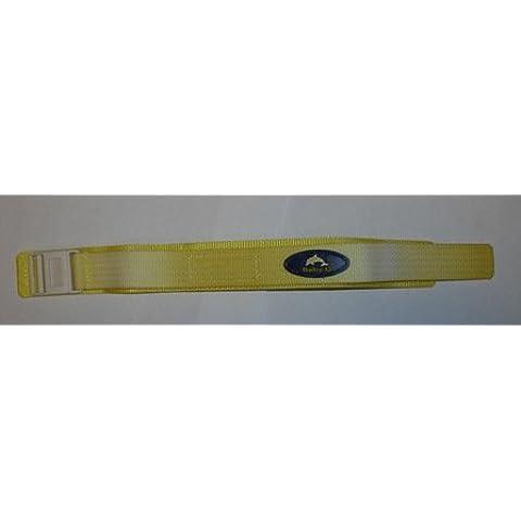 Nuevo Casio Baby-g amarillo, del reloj de repuesto 18mm-20mm correa de Velcro