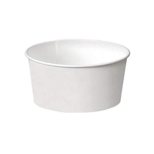 White Paper Cups (SDG PZ 86 Weiß CC 230 Groß für Joghurt und EIS in Papier White Paper Cups)