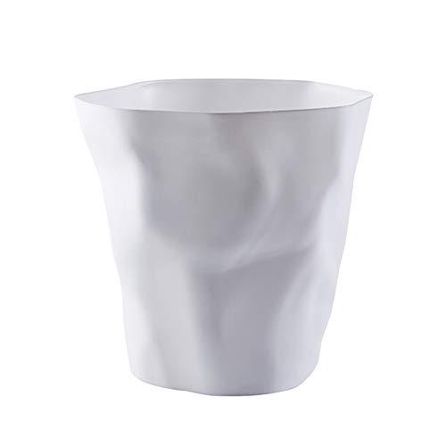 Vi.yo. Mode Simple Poubelle de Bureau en Plastique Salon, Bureau-sans Couvercle-25 * 16 * 24.5cm