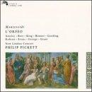 Monteverdi-l'Orfeo-C.Bott-M.George-New London Cons-Pickett-
