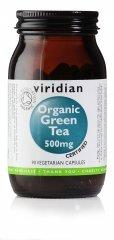 Viridian Green Tea Leaf 500mg (Organic), 90 Veg bouchons