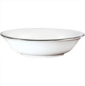 Grosgrain Fine Bone China (Wedgwood Vera Wang Grosgrain Cereal Bowl 16cm by Wedgwood)