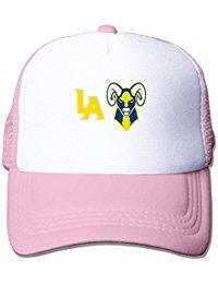 L.A. Rams Logo Concepts Flat Billed Trucker